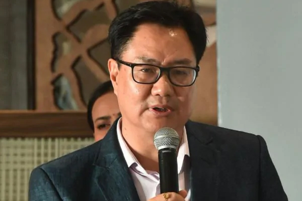 Confident of Indian hockey teams performing well in Tokyo Olympics: Rijiju - Sports News in Hindi