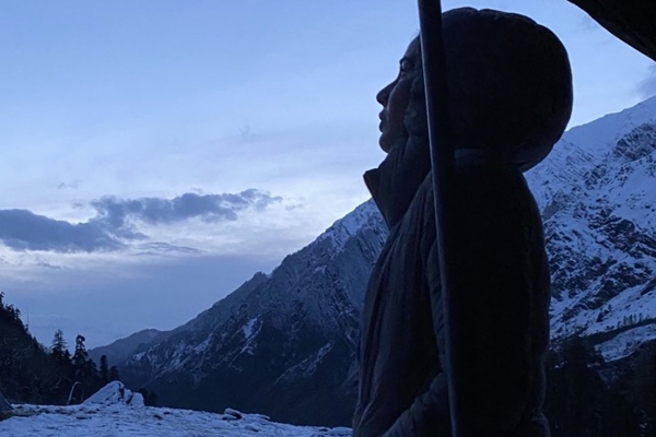 Kirti Kulhari shares photo from her trip to the mountains - Bollywood News in Hindi