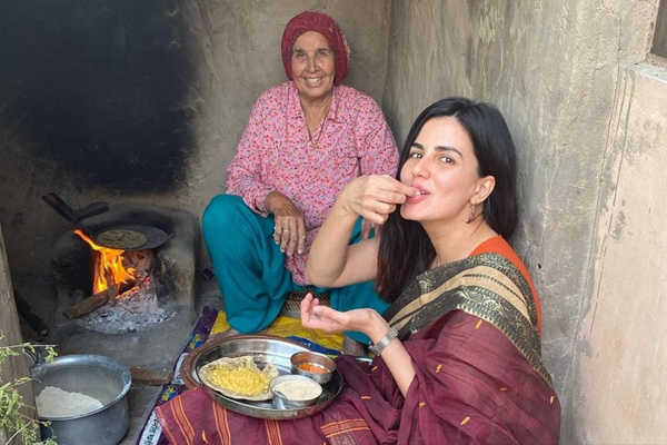 Kirti Kulhari enjoys winter in Rajasthan with Bajra roti lunch - Bollywood News in Hindi