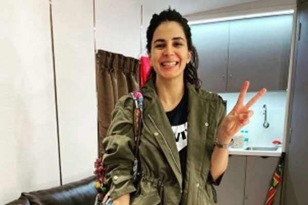 Kirti Kulhari shot while the world was sleeping - Bollywood News in Hindi