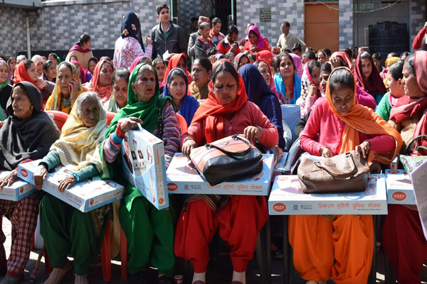 Gill connection to one lakh 75 thousand women in the state: Kishan Kapoor - Dharamshala News in Hindi
