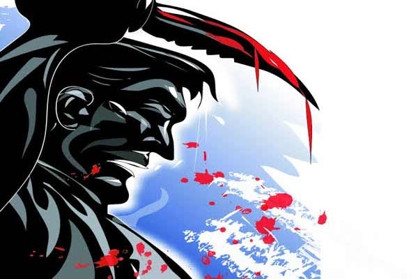 Knife on two sides in Jaipur, one shopkeeper killed, one injured - Jaipur News in Hindi