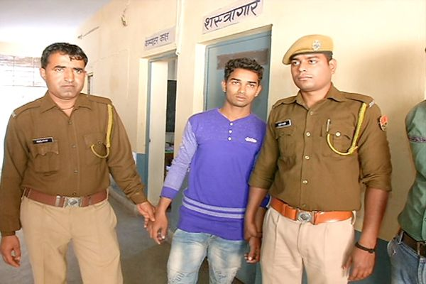 Two crooks holding, illegal arms recovered - Kota News in Hindi