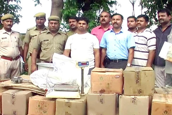 1000 liters of fake ghee was being made in the shop in Kota city - Kota News in Hindi