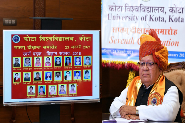 Universities should develop into the best centers of knowledge in the country - Governor - Jaipur News in Hindi