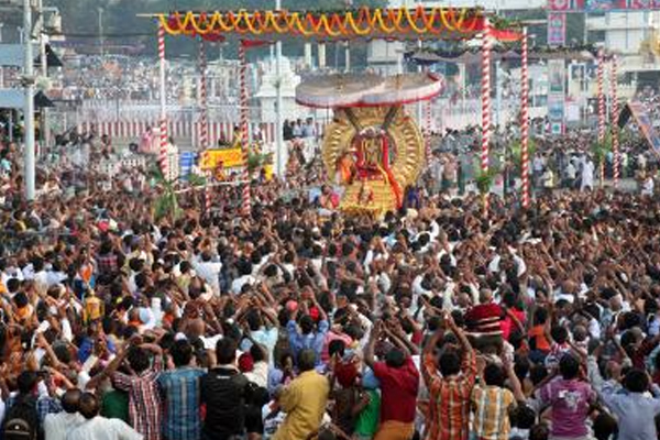 Kovid-19: Tirupati temple closed for devotees - Tirupati News in Hindi