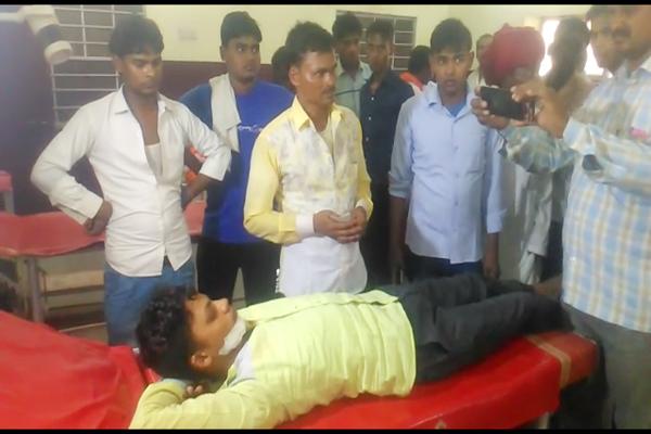 karauli news : electricity current at bus in hindaun city, No big accident - Karauli News in Hindi