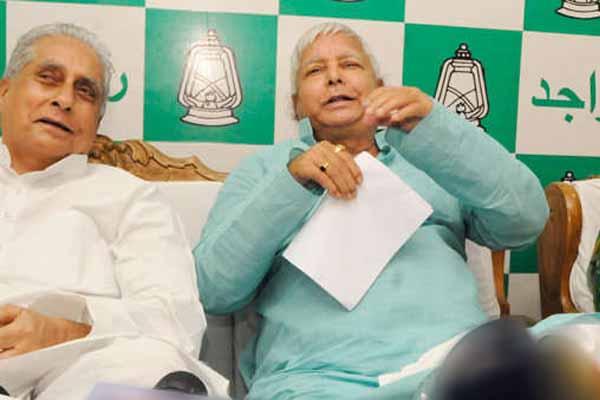 rjd leader jagdanand singh addresses press conference and demand resignation of cm nitish - Patna News in Hindi
