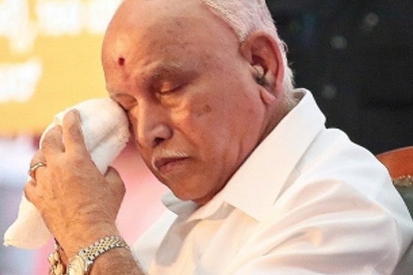 Let Yediyurappa reveal who was responsible for his tears: Congress - Bengaluru News in Hindi
