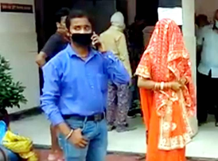 UP: Youth market went to get vegetables and ration, but bride brought home - Ghaziabad News in Hindi