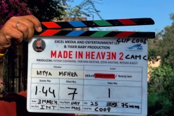 Sobhita Dhulipala has started shooting for the second season of the web-series Made In Heaven - Bollywood News in Hindi