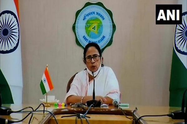 CM Mamta attack on Modi government, said- Bengal got less vaccines according to the density of population - Kolkata News in Hindi