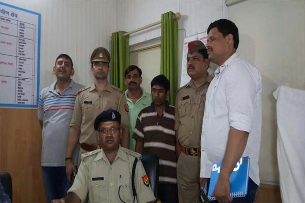 Vicious gangster arrested from Vijayanagar in ghaziabad - Ghaziabad News in Hindi