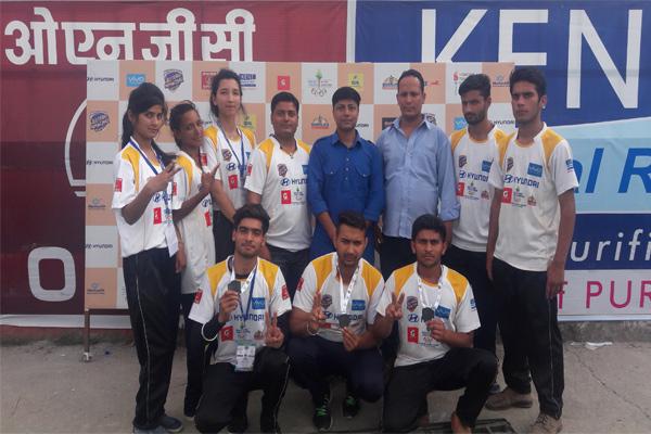 Mandi Judo Team won 3 bronze in Himachal Olympic Games - Mandi News in Hindi