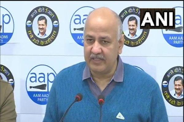 BJP behind manipulating Kejriwal video - Manish Sisodia - Delhi News in Hindi