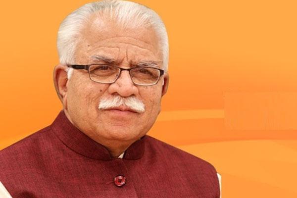 CM मनोहर लाल खट्टर फरीदाबाद में रविवार को करेंगे चुनावी शंखनाद