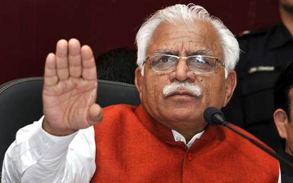 Haryana coalition govt will last full term, says Khattar - Chandigarh News in Hindi