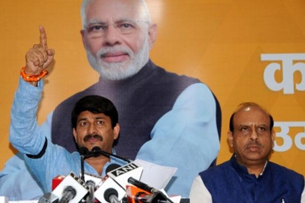 Manoj Tiwari said, If BJP does not give 5 times more than Kejriwal to the public, I will take retirement - Delhi News in Hindi
