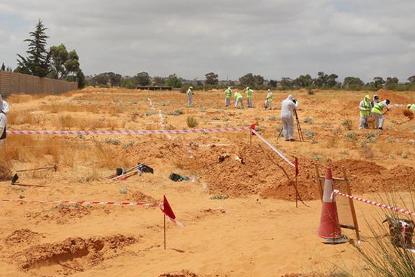 25 bodies recovered from mass graves in Libya - World News in Hindi