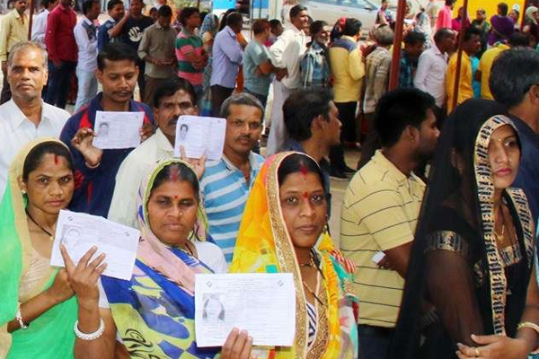 Nearly 75 percent polling in Haryana bypoll - Jind News in Hindi
