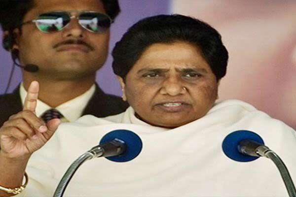 mayawati attacked on bjp in agra - Agra News in Hindi