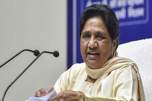 Like Congress, Dalits are not respected in BJP government: Mayawati - Lucknow News in Hindi