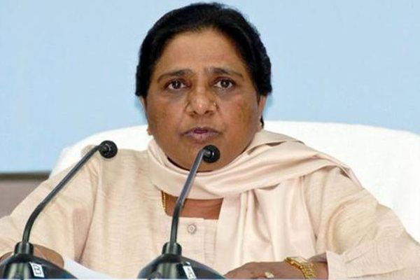 Mayawati attacks on centre government and Modi in press conference - Lucknow News in Hindi