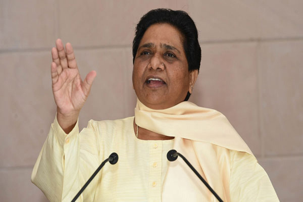 Mayawati said, BJP claims of development are hollow - Lucknow News in Hindi