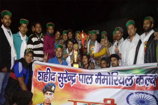 एमसीसी चगांव ने उरनी की टीम को 33 रन से हराया