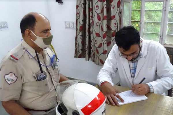 Medical camp organized in Rajasthan Police Academy - Jaipur News in Hindi