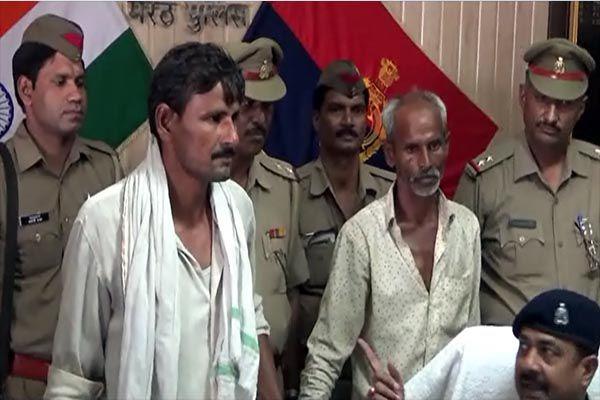 Meerut police solve murder case - Meerut News in Hindi