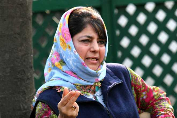 Mufti aghast over PDP leader detention by counter intelligence wing - Srinagar News in Hindi