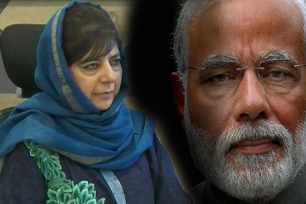 JK Lok sabha Election Results 2019 : Mehbooba Mufti concedes defeat in Anantnag, says Congress should get an Amit Shah - India News in Hindi