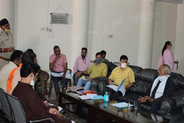 ज्वालाजी में आश्विन नवरात्र मेलों की तैयारियां शुरू