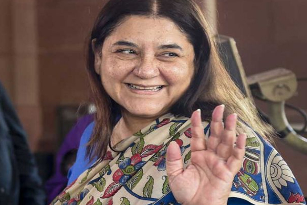 Maneka Gandhi thanks people of Sultanpur - Sultanpur News in Hindi