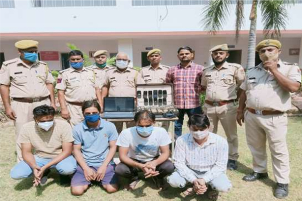 Millions caught on IPL cricket match in Jaipur, four arrested - Jaipur News in Hindi