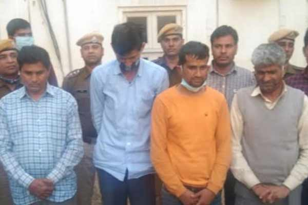 Millions of silver theft case by digging tunnel in Jaipur: jewelers uncle and nephew conspired, four arrested - Jaipur News in Hindi