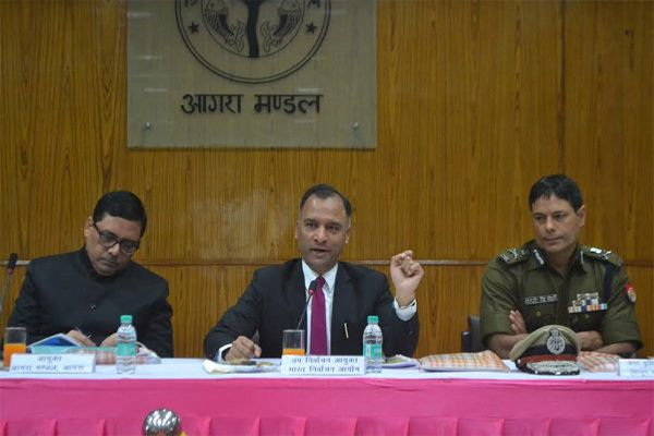 In the first election security, convenience, solutions and online voting - Agra News in Hindi