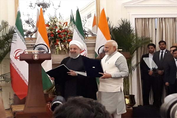 nine agreements with india and Iran agree to stop terrorism - Delhi News in Hindi