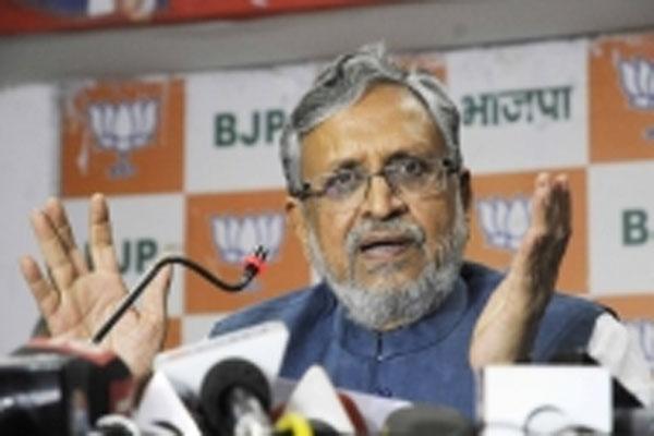 Uddhav Thackeray under pressure from Congress-funded Bollywood mafia - Sushil Modi - Patna News in Hindi