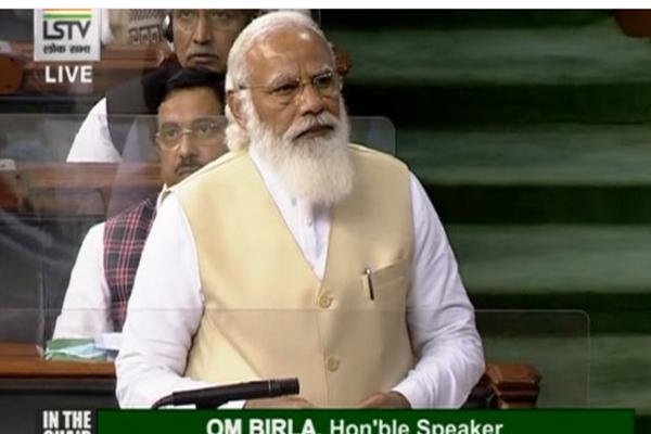 PM Narendra Modi in Lok Sabha - Delhi News in Hindi