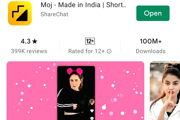 Moj surpasses 100mn downloads on Google Play Store - Gadgets News in Hindi