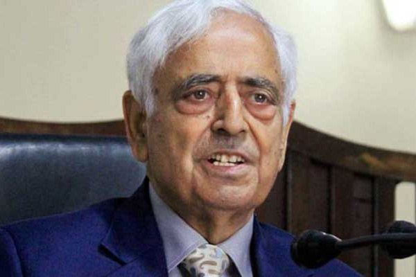 Mehbooba given by Mufti Mohammad Sayeed first death anniversary tribute - Srinagar News in Hindi