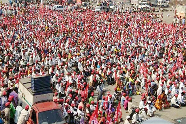 march of the farmers from nashik to mumbai, demonstration on mumbai Assembly on monday - Mumbai News in Hindi