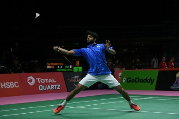 My level will go up a couple of notches I get fitter: Praneeth - Badminton News in Hindi