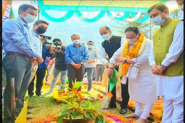 भारत को एकजुट रखने में श्यामा प्रसाद का महत्वपूर्ण योगदान रहा - जेपी नड्डा
