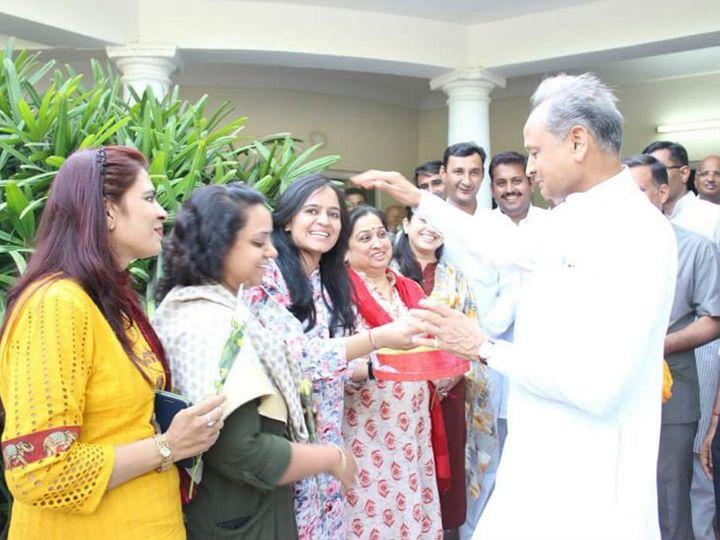 Kunti of Congress in North in Jodhpur Municipal Corporation, BJP Mayor in South - Jodhpur News in Hindi