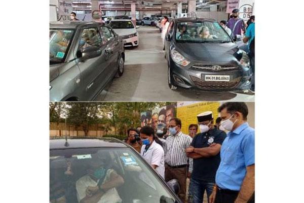 नम्रता शिरोडकर ने मुंबई, भोपाल में चल रही वैक्सीन ड्राइव की तारीफ की