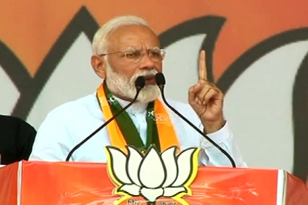 Prime Minister Narendra Modi addressed the public meeting in Rohtak - Rohtak News in Hindi