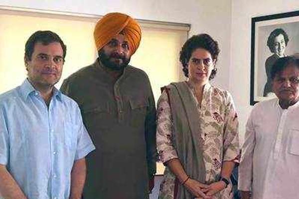 navjot singh sidhu meets rahul gandhi - Punjab-Chandigarh News in Hindi